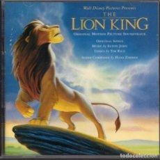 CDs de Música: EL REY LEON. CD BSO. Lote 190996918