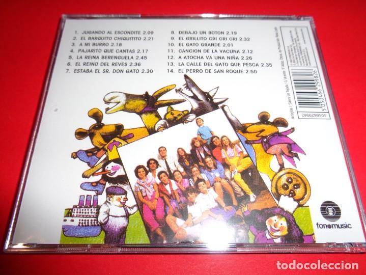 CDs de Música: ROSA LEÓN / CANCIONES PARA NIÑOS VOL.1 Y VOL. 2 / CANCIONES INFANTILES / FONOMUSIC / 2 CD - Foto 3 - 191080192