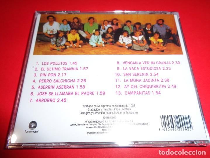 CDs de Música: ROSA LEÓN / CANCIONES PARA NIÑOS VOL.1 Y VOL. 2 / CANCIONES INFANTILES / FONOMUSIC / 2 CD - Foto 5 - 191080192