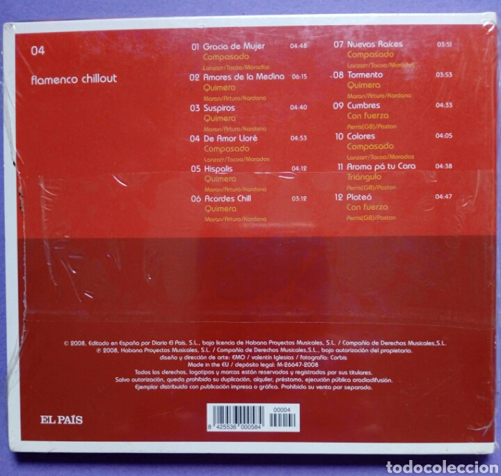 CDs de Música: Flamenco Chillout (El País) - Foto 2 - 191081237