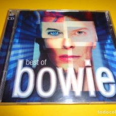 CDs de Música: DAVID BOWIE / BEST OF / GREATEST HITS / EMI RECORDS / 2 CD. Lote 191083108