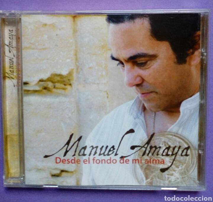 MANUEL AMAYA - DES DEL FONDO DE MI ALMA (Música - CD's Flamenco, Canción española y Cuplé)