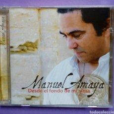 CDs de Música: MANUEL AMAYA - DES DEL FONDO DE MI ALMA. Lote 191083606