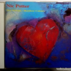 CDs de Música: NIC POTTER - NEW EUROPE - RAINBOW COLOURS - UK CD 1992 - ZOMART. Lote 191095771