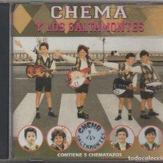 CDs de Música: CHEMA Y LOS SALTAMONTES / CD ALBUM DE 1995 / MUY BUEN ESTADO RF-4108. Lote 191114520