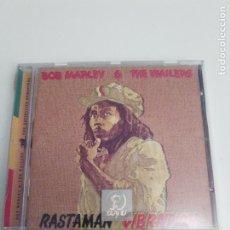 CDs de Música: BOB MARLEY & THE WAILERS RASTAMAN VIBRATION + 1 BONUS ( 1976 ISLAND 2001 ) BUEN ESTADO GENERAL. Lote 191119546