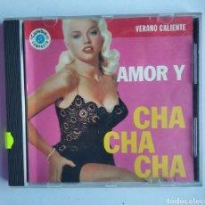 CDs de Música: CD MÚSICA AMOR Y CHA CHA CHA VERANO CALIENTE AÑO 1993. Lote 191122593