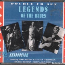 CD de Música: LEGENDS OF THE BLUES BLUES COLLECTION / DOBLE CD DE 1991 RF-4118. Lote 191134823