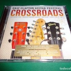 CDs de Música: ERIC CLAPTON GUITAR FESTIVAL / CROSSROADS / LIVE / CONCIERTO EN DIRECTO / 2 CD. Lote 191137658