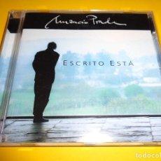 CDs de Música: AMANCIO PRADA / ESCRITO ESTÁ / EMI RECORDS / CD. Lote 191138272