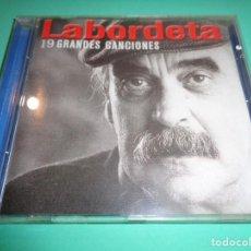 CDs de Música: JOSÉ ANTONIO LABORDETA / 19 GRANDES CANCIONES / GRANDES ÉXITOS / LO MEJOR DE / FONOMUSIC / CD. Lote 191148928