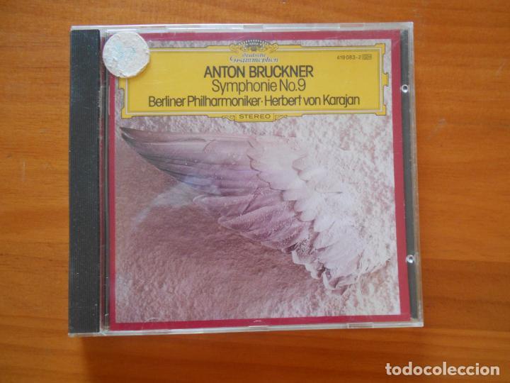 CD ANTON BRUCKNER: SYMPHONIE NR. 9 - BERLINER PHILHARMONIKER / KARAJAN (P6) (Música - CD's Clásica, Ópera, Zarzuela y Marchas)