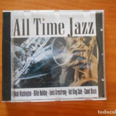 CDs de Música: CD ALL TIME JAZZ - DINAH WASHINGTON, BILLIE HOLIDAY, LOUIS ARMSTRONG, NAT KING COLE... (P6). Lote 191154255