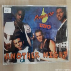 CDs de Música: PROYECTO UNO / ANOTHER NIGHT. Lote 191156593