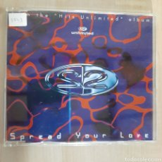 CDs de Música: 2 UNLIMITED / SPREAD TOUR LOVE. Lote 191158177