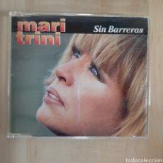 CDs de Música: MARI TRINI / SIN BARRERAS. Lote 191159828