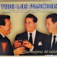 CDs de Música: 2CD TRIO LOS PANCHOS - SUS MEJORES 40 ÉXITOS (NM_NM). Lote 191175377
