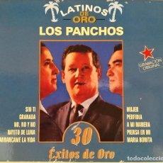 CDs de Música: 2CD LOS PANCHOS - 30 ÉXITOS DE ORO, COLECCIÓN LATINOS DE ORO, 1999, COMO NUEVO (EX_NM). Lote 191175958