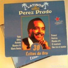 CDs de Música: 2CD PÉREZ PRADO - 30 ÉXITOS DE ORO, COLECCIÓN LATINOS DE ORO, 1999, COMO NUEVO (EX_NM). Lote 191176602