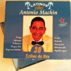 CDs de Música: 2CD ANTONIO MACHÍN - 30 ÉXITOS DE ORO, COLECCIÓN LATINOS DE ORO, 1999, COMO NUEVO (EX_NM). Lote 191176642