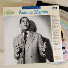 CDs de Música: CD ANTONIO MACHÍN - LO MEJOR, VIDA COTIDIANA Y CANCIONES, 1995, COMO NUEVO (EX_NM). Lote 191177047