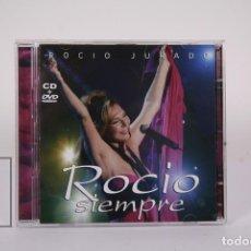 CDs de Música: CD DE MÚSICA - ROCIO JURADO / SIEMPRE - CD + DVD - SONY & BMG - AÑO 2006. Lote 191177390