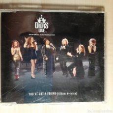 CDs de Música: DIVAS LIVE / YOU'VE GOT A FRIEND / DION ESTEFAN TWAIN KING. Lote 191196735