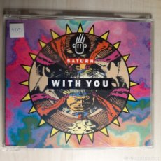 CDs de Música: SATURN / WITH YOU. Lote 191198090