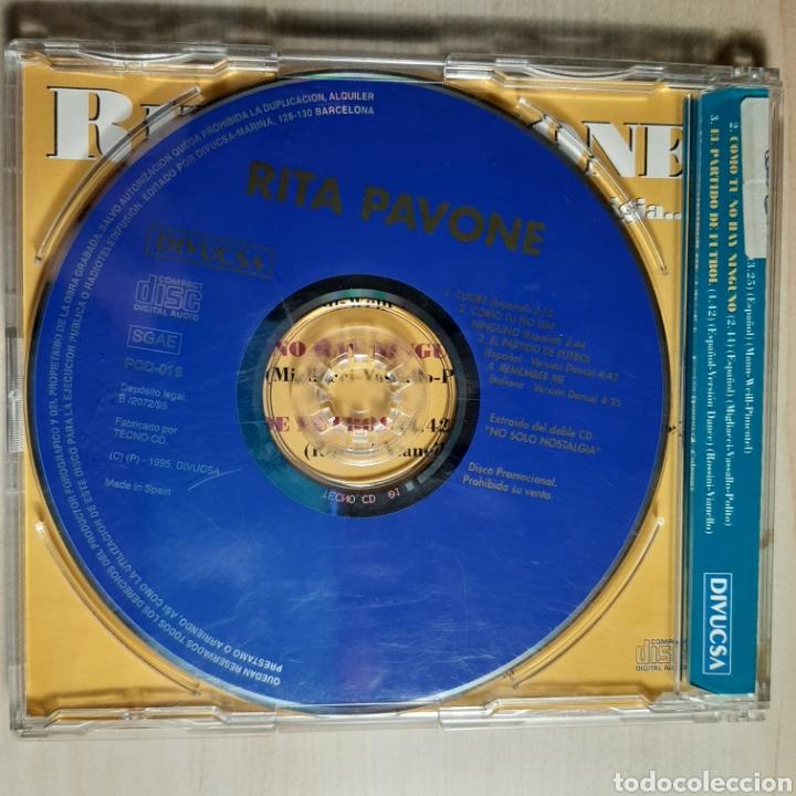 CDs de Música: Rita Pavone / No Solo Nostalgia - Foto 2 - 191203262