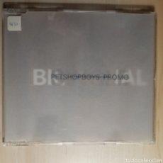 CDs de Música: PETSHOPBOYS SINGLE PROMO / PET SHOP BOYS / BILINGUAL. Lote 191204306