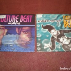CDs de Música: LOTE 2 CD SINGLE CULTURE BEAT / ANYTHING Y CRYING IN THE RAIN - TOTAL 4 TRACKS. Lote 191215532