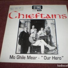 CDs de Música: CD SINGLE PROMO STING CON THE CHIEFTAINS / MO GHILE MEAR - OUR HERO 2 TRACKS. Lote 191220456