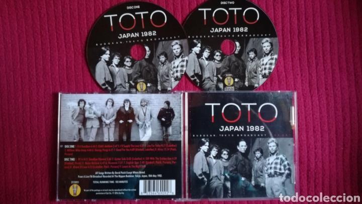 TOTO: JAPAN 1982. BUDOKAN,TOKYO BROADCAST. 2CD'S LIVE. (Música - CD's Rock)