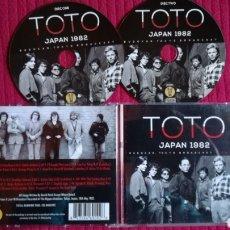 CDs de Música: TOTO: JAPAN 1982. BUDOKAN,TOKYO BROADCAST. 2CD'S LIVE.. Lote 191226956