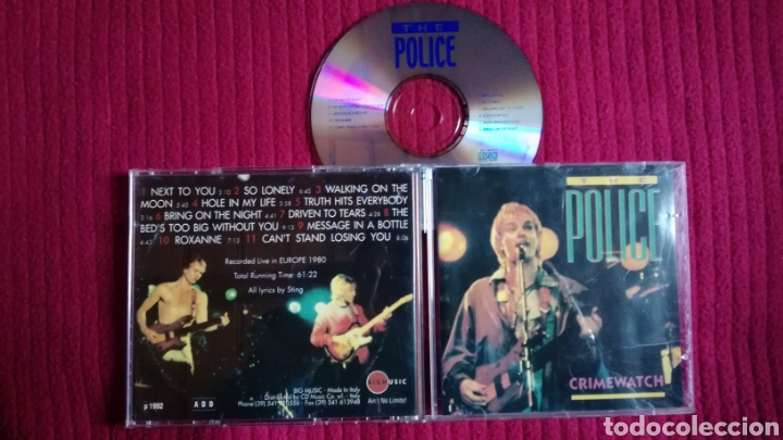 THE POLICE: CRIMEWATCH. LIVE IN EUROPE 1980. (Música - CD's Rock)