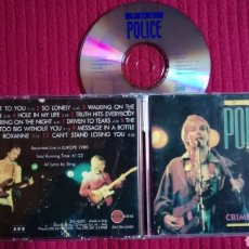 CDs de Música: THE POLICE: CRIMEWATCH. LIVE IN EUROPE 1980.. Lote 191228393