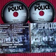 CDs de Música: THE POLICE: SAMURAI. 2CD'S LIVE BUDOKAN HALL,TOKYO/JAPAN 2-2-1981. Lote 191229142