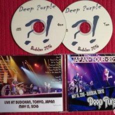 CDs de Música: DEEP PURPLE: JAPAN TOUR 2016, 2CD'S LIVE AT BUDOKAN, TOKYO 15 MAYO 2016.. Lote 191229587