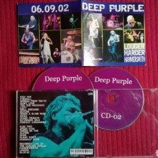 CDs de Música: DEEP PURPLE: 2CD'S LIVE CARLING APOLLO 6 SEPTIEMBRE 02 LOUDER HARDER HAMMERSMITH.. Lote 191229695