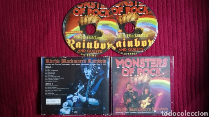 RAINBOW: MONSTERS OF ROCK. 2CDS LIVE AT LORELEY GERMANY 17 JUNE 2016 LIMITED EDITION 117-500 COPIES (Música - CD's Rock)
