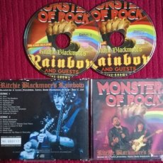 CDs de Música: RAINBOW: MONSTERS OF ROCK. 2CD'S LIVE AT LORELEY GERMANY 17 JUNE 2016 LIMITED EDITION 117-500 COPIES. Lote 191230005