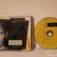 CDs de Música: CD ORIGINAL - STING THE BEST OF - ROCK - FIELDS OF GOLD. Lote 191232356