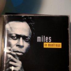 CDs de Música: MILES DAVIS – MILES IN MONTREUX (BOOTLEG). Lote 191237913