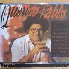 CDs de Música: PABLO MILANES (PABLO QUERIDO) 2 CD'S 1987 (SERRAT, AUTE, MIGUEL RIOS, ANA BELEN, SILVIO RODRIGUEZ..). Lote 191248653