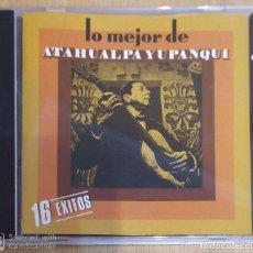 CDs de Música: ATAHUALPA YUPANQUI (LO MEJOR DE ATAHUALPA YUPANQUI - 16 EXITOS) CD 1988. Lote 191249193