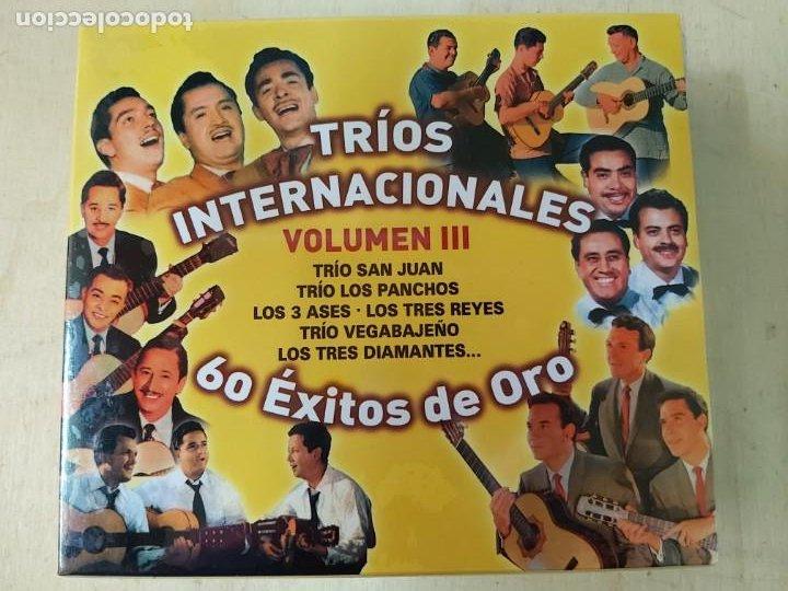 TRIOS INTERNACIONALES VOL. III: 60 EXITOS DE ORO (Música - CD's Latina)