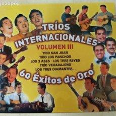 CDs de Música: TRIOS INTERNACIONALES VOL. III: 60 EXITOS DE ORO. Lote 146698406