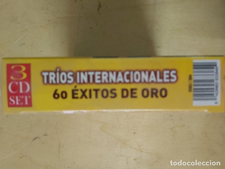 CDs de Música: Trios internacionales Vol. III: 60 exitos de oro - Foto 2 - 146698406