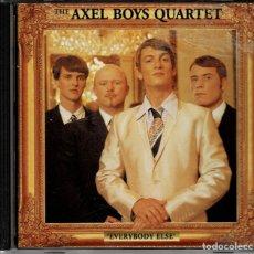 CDs de Música: THE AXEL BOYS QUARTET - EVERYBODY ELSE - CD ALBUM DE 1996 RF-4148 , BUEN ESTADO. Lote 191316627