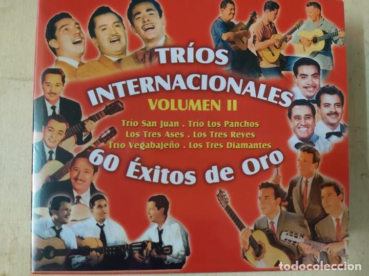 TRIOS INTERNACIONALES VOL. II: 60 EXITOS DE ORO (3CDS) PRECINTADO (Música - CD's Latina)